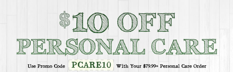 $10 off Personal Care