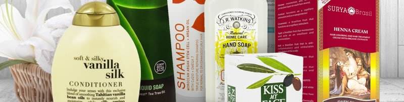 Soap, Shampoo, Toothpaste & More