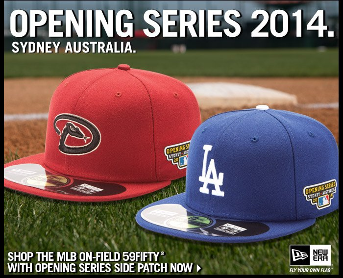 Shop The MLB On-Field 59FIFTY With Opening Series Side Patch Collection