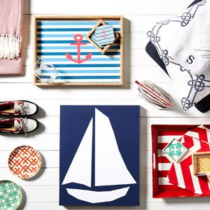 Your Preppy Pad Awaits: Stripes, Brights, & More