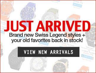 New Swiss Legend Arrivals