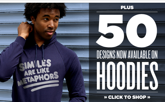 50 New Hoodies From BustedTees