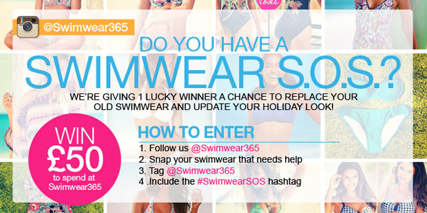 Do you have a Swimwear S.O.S.? Win £50 to spend at Swimwear365