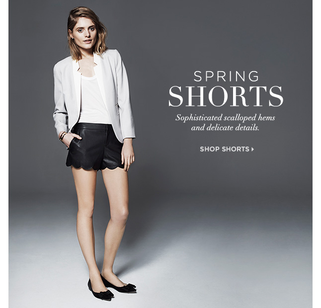 Scalloped Shorts For Spring: Shop Now
