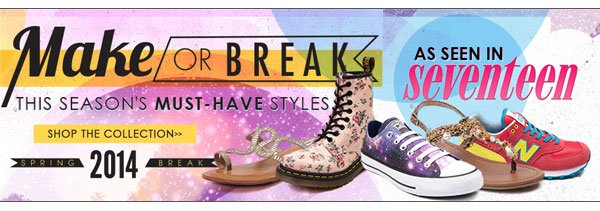 Shop the styles as seen in Seventeen Magazine!