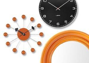 Hanging Around: Mirrors & Clocks