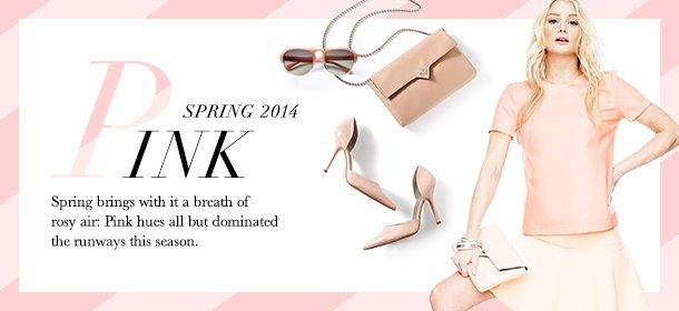 Spring 2014: Pink