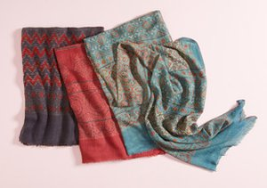 Printed Scarves feat. MILA Trends