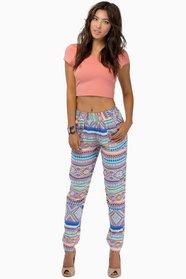 Daring Tribal Pants $35