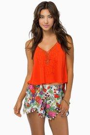 Bloomin' Ivy Shorts $29