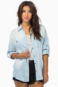 Per Denim Button Up Shirt $49