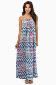 Exploring Zig Zags Maxi Dress $39