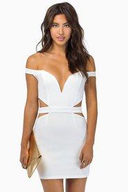 Below The Shoulders Dress $43