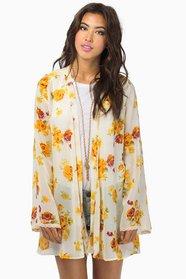 Good Morning Kimono Wrap $49