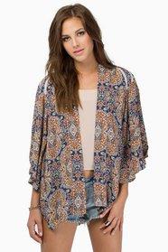 Dainty Femme Kimono $36