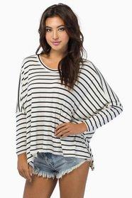 Stripe Across Top $28