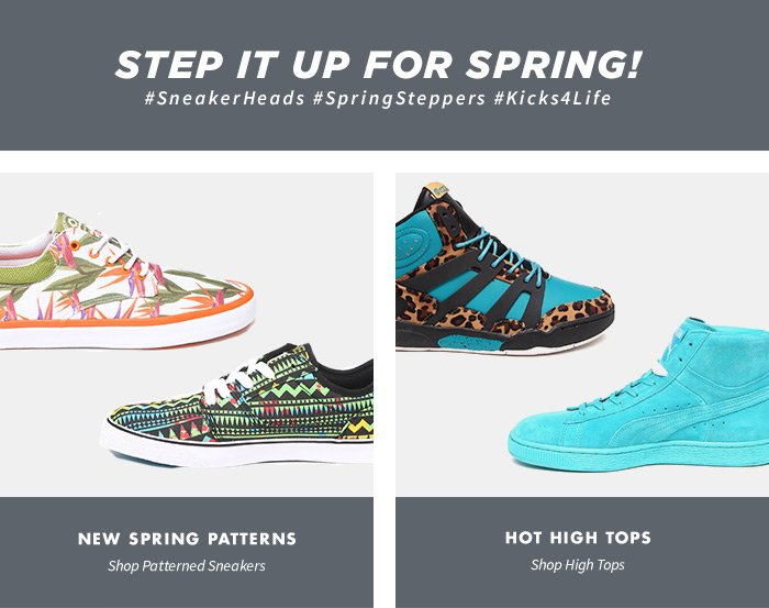 Step it up for Spring!
