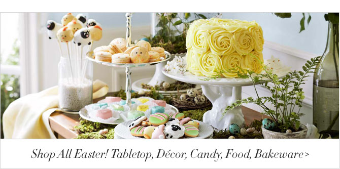 Shop All Easter! Tabletop, Décor, Candy, Food, Bakeware