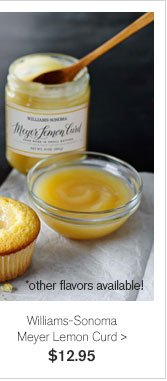Williams-Sonoma Meyer Lemon Curd - $12.95