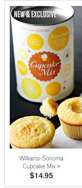 NEW & EXCLUSIVE - Williams-Sonoma Cupcake Mix - $14.95