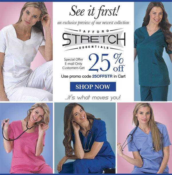 All New Tafford Essentials Stretch 25% Off - Shop Now