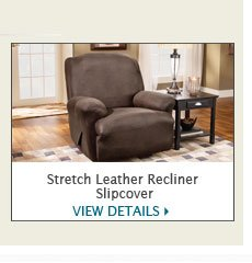 Stretch Leather Recliner