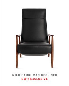 MILO BAUGHMAN RECLINER DWR EXCLUSIVE