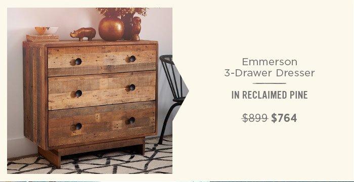 Emmerson 3-Drawer Dresser