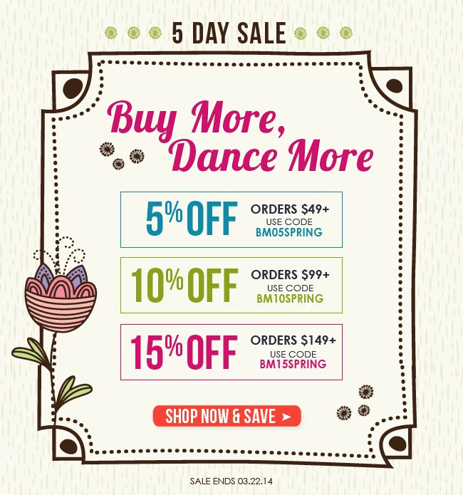 Buy More Dance More