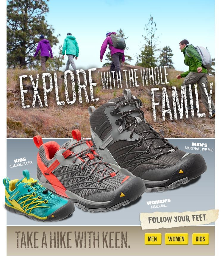 Explore with the whole family!