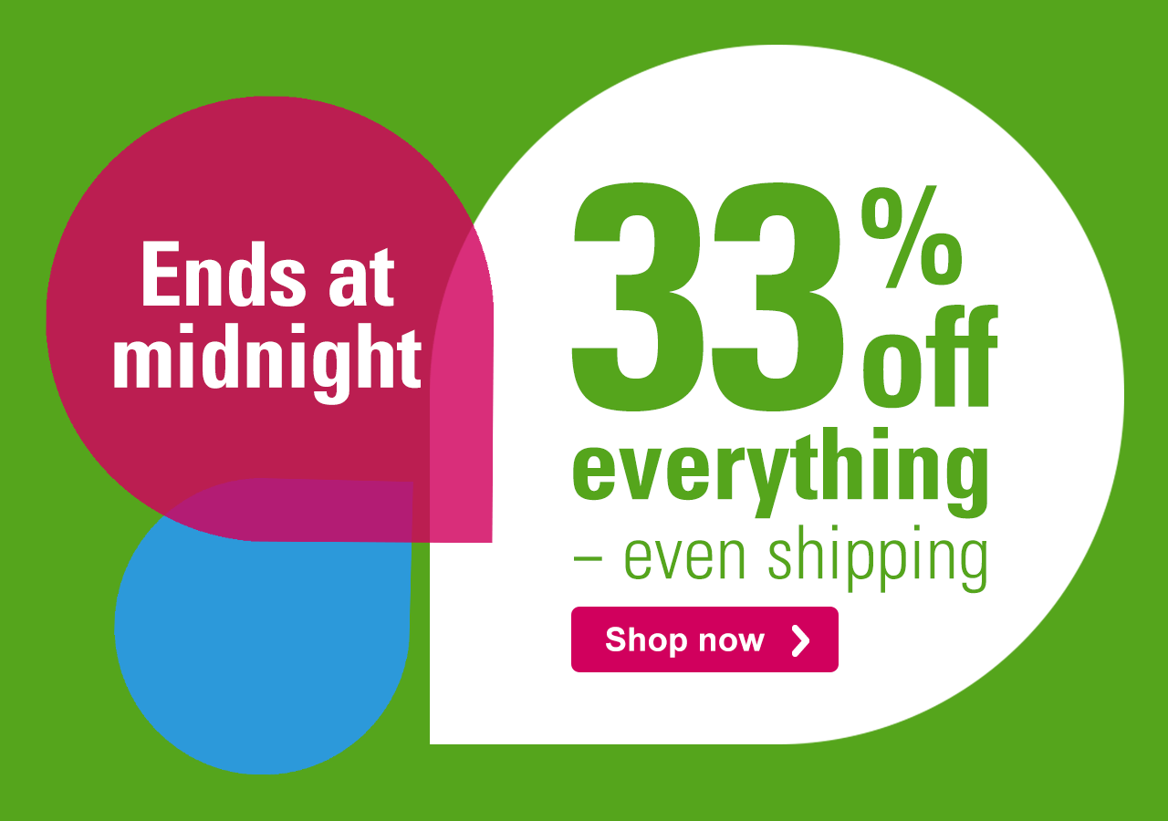 Spring Savings 33% off everything – even shipping Shop now › Here's what's included: All products – Shipping - Premium paper stocks - Back-side printing