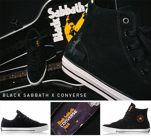 Black Sabbath x Converse