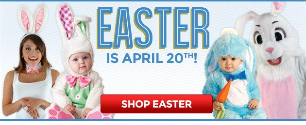Easter is April 20th