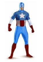 Captain America Bodysuit Costume