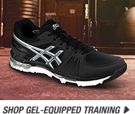 Shop the GEL-Equipped Training Shoes - Promo A