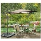 CastleCreek® Square Cantilever Patio Umbrella or Umbrella Base