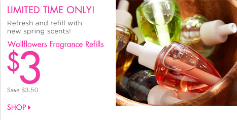 Wallflowers Fragrance Refills – $3