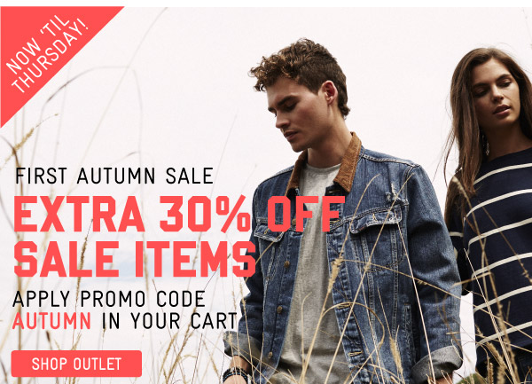 EXTENDED! Extra 30% Off Sale Items - Shop Now