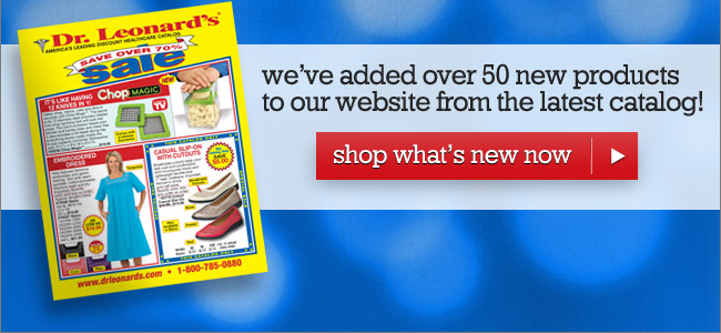 Over 50 New Products - Shop Now