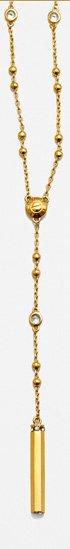 Uptown Y Necklace