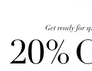 Get ready for sprint! 20% OFF