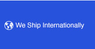 we ship internationally