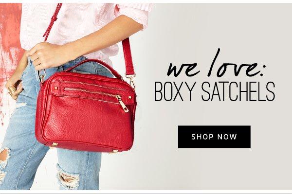 We Love: Boxy Satchels