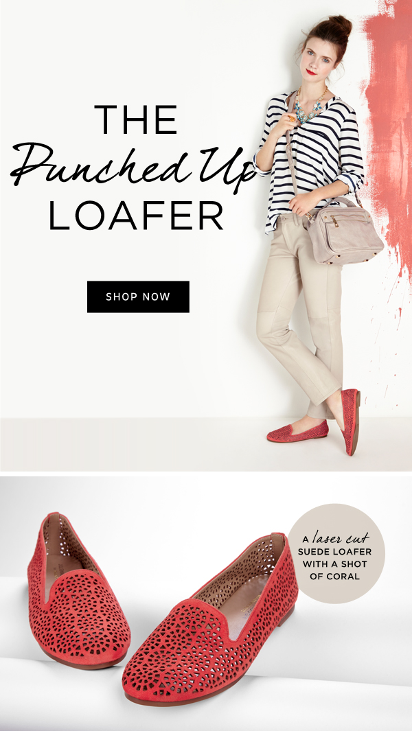 The Punched Up Loafer