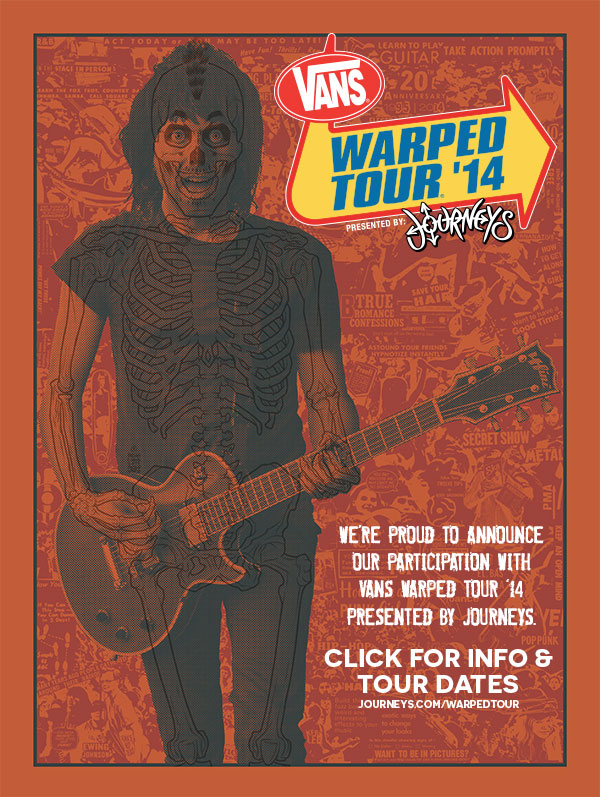 Vans Warped Tour '14 Presented by Journeys