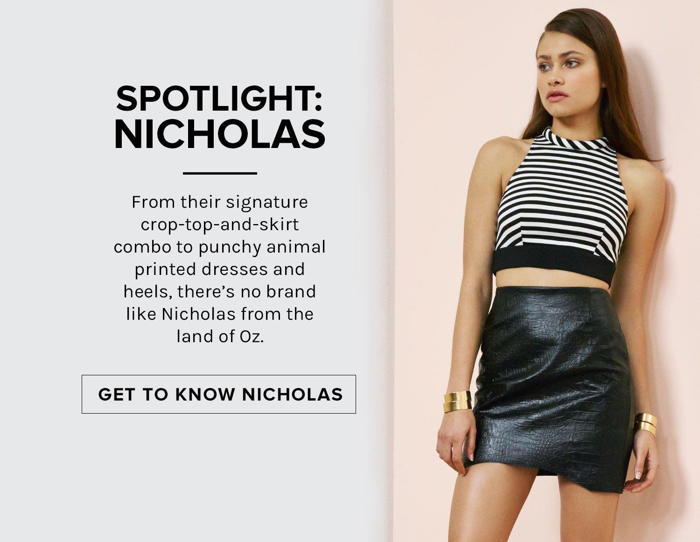 SPOTLIGHT: NICHOLAS .