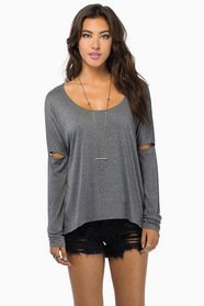 Split Sleeve Top $28