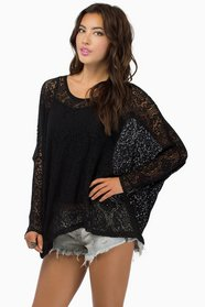 Laced in Shadows Top $47