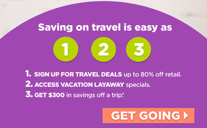 Saving on travel is easy as 1-2-3 | GET GOING