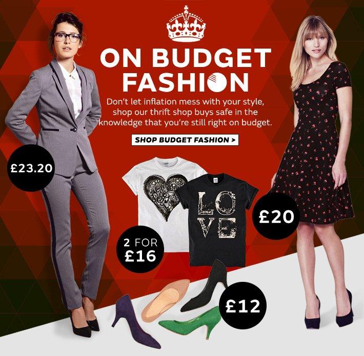 On budget fashion, all under £40
